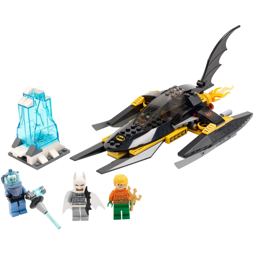 "Конструктор ""Арктический Бэтмен против Мистера Фриза"", Decool 7102 Бэтмен, (аналог Lego 76000 Batman Super Heroes), 198 деталей"