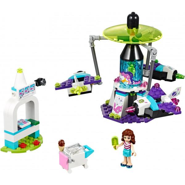 """Конструктор Bela (Lari) """"Friends"""" (10556) Парк развлечений: Космическое путешествие , аналог : Lego Friends 41128 , количество деталей: 197"""