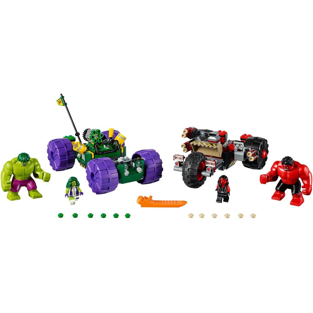 """Конструктор Bela 10675 """"Халк против Красного Халка"""" Серия: Super Heroes Аналог: Lego 76078"""