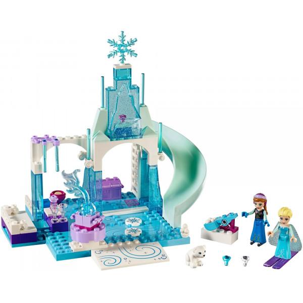 """Конструктор Bela """"Princess"""" 10665 """"Игровая площадка Эльзы и Анны"""" , аналог: Lego junior 10736 , количество деталей: 100"""