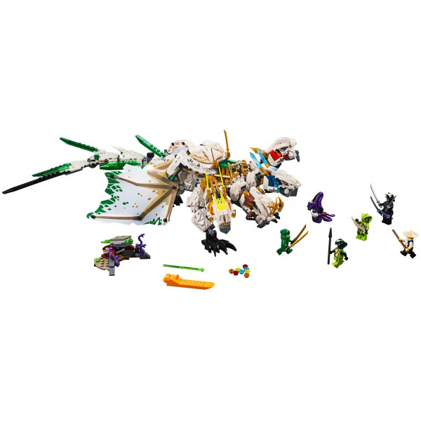 """Конструктор """"Ультра Дракон"""", Bela Нинзяго 11164 , (аналог Lego Ninjago 70679), 989 деталей"""