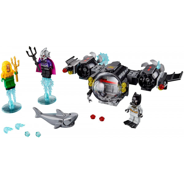 """Конструктор """"Подводный бой Бэтмена"""", Bela Super Heroes 11233 (аналог Lego 76116 Batman), 201 деталей"""
