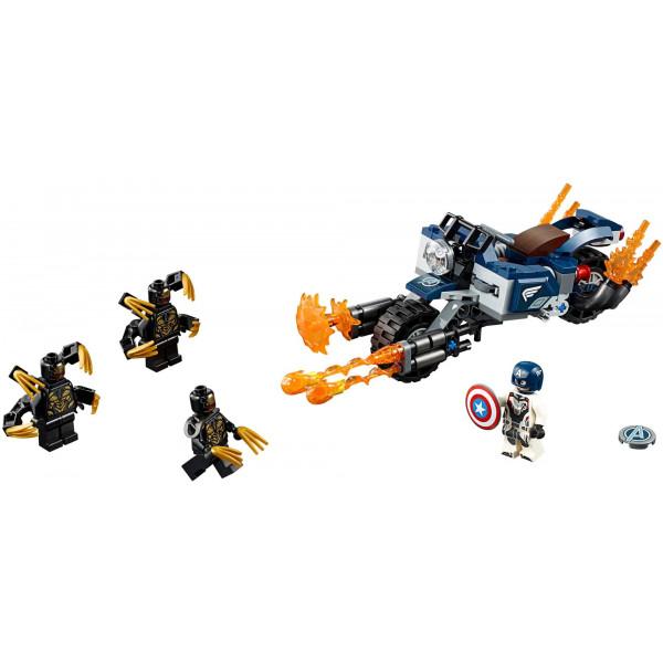 "Конструктор Bela Avengers 11258 ""Капитан Америка: Атака Аутрайдеров"" , аналог: Lego Avengers 76123 , количество деталей: 191"