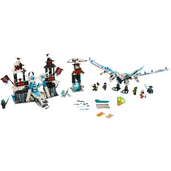 """Конструктор """"Замок проклятого императора"""", Bela Нинзяго 11333  (аналог Lego Ninjago 70678), 1260 деталей"""