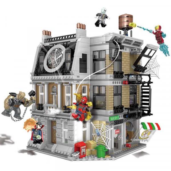 """Конструктор """"Решающий бой в Санктум Санкторум"""", Bela Марвел 10840 (аналог LEGO 76108 Avengers), 1044 деталей"""