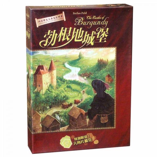 """Настольная игра """"The Castles of Burgundy"""" (Замки Бургундии)"""