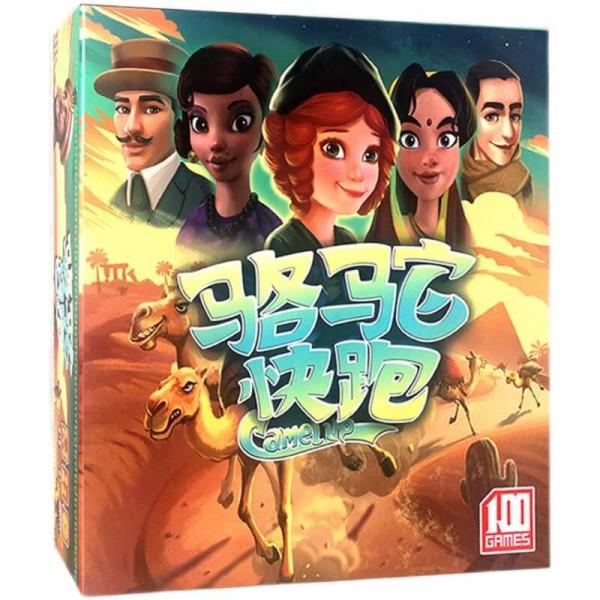 Настольная игра Camel Up: second edition (По верблюдам: второе издание)