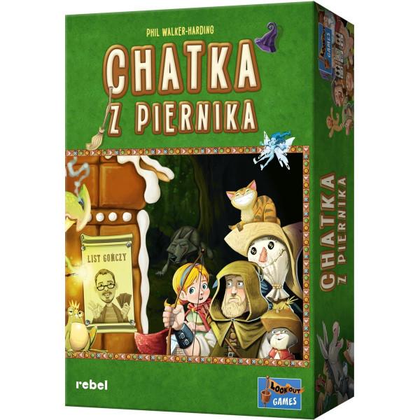 Настольная игра Пряничный домик (Gingerbread Housу, Chatka z piernika)