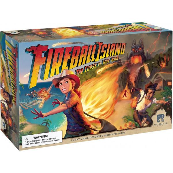 Настольная игра Fireball Island: The Curse of Vul-Kar (Огненный шар: проклятие Вул-Кар)
