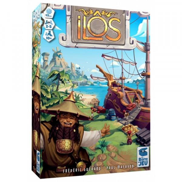 Настольная игра Ilos (Илос: Затерянный архипелаг)