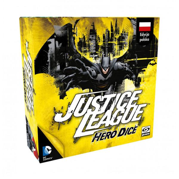 Настольная игра  Justice League: Hero Dice – Batman (Лига Справедливости: Геройские Кубики – Бэтмен)