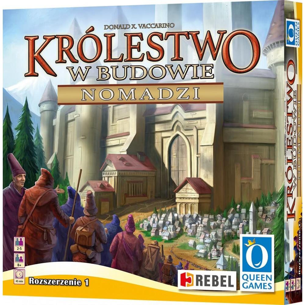 Настольная игра Kingdom Builder: Nomads (Строитель Королевства: Кочевники), Дополнение