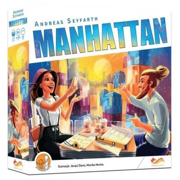 """Настольная игра """"Manhattan"""" (Небоскреб-сити)"""