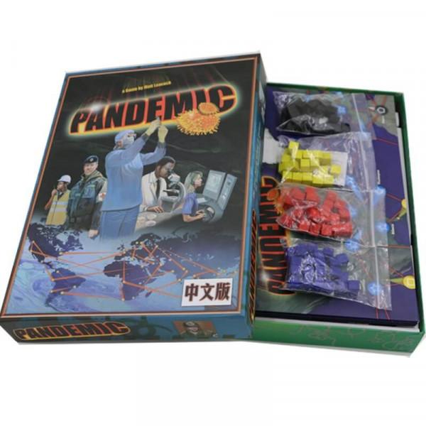 Настольная игра Pandemic (Пандемия)