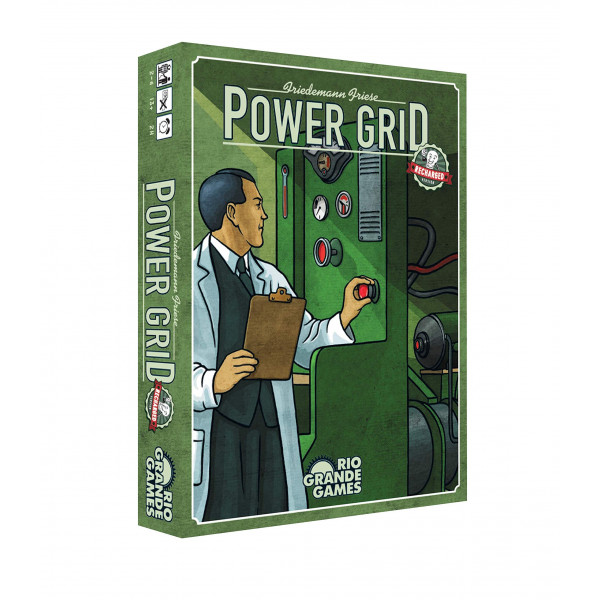 """Настольная игра """"Power Grid"""" (Энергосеть)"""