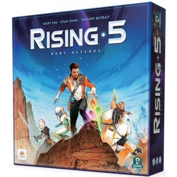 """Настольная игра """"Rising 5: Runes of Asteros"""" (Восход 5: Руны Астероса)"""