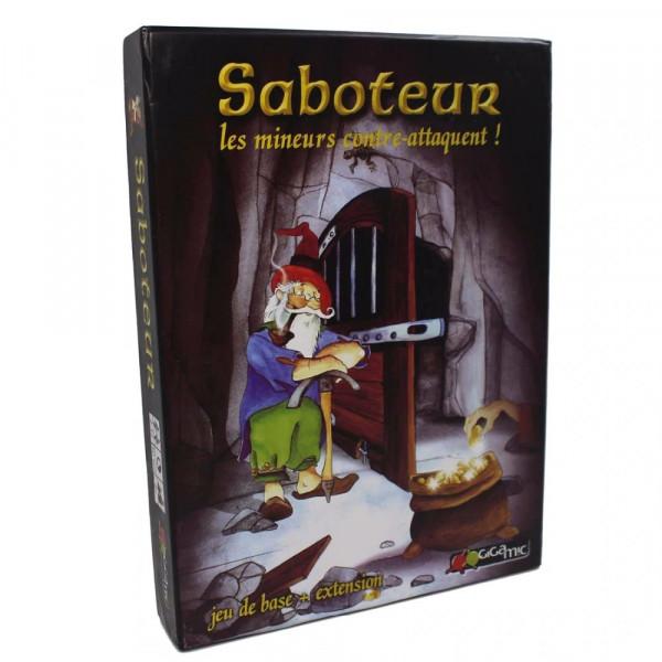 Настольная игра Saboteur Deluxe (Гномы-вредители Делюкс; Саботёр)