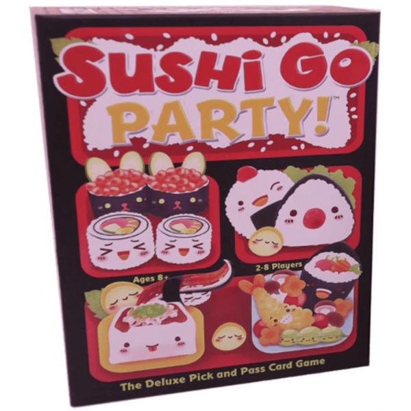 """Настольная игра """"Sushi Go Party"""" (Суши карты: Вечеринка)"""