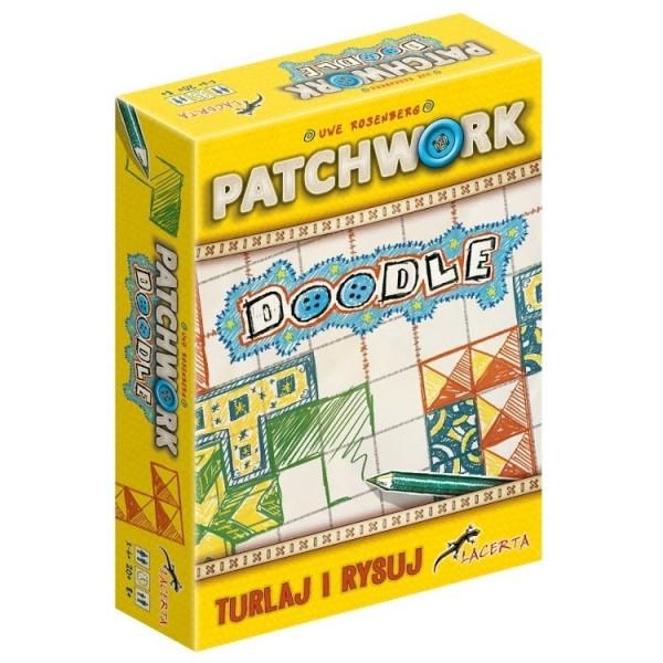 Настольная игра Patchwork doodle (Печворк)