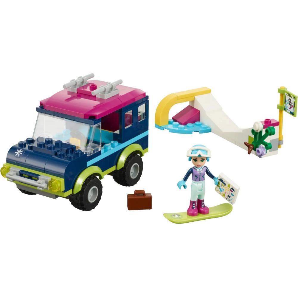 """Конструктор """"Горнолыжный курорт, внедорожник"""" Bela Friends 10728, (аналог Lego Friends 41321), 144 деталей"""