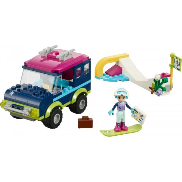 """Конструктор Bela Friends 10728 """"Горнолыжный курорт, внедорожник"""",  аналог: Lego Friends 41321, количество деталей: 144"""