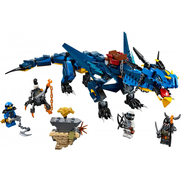 "Конструктор ""Вестник бури"" Bela 10936 Нинзяго, (аналог Lego 70652 Ninjago), 515 деталей"