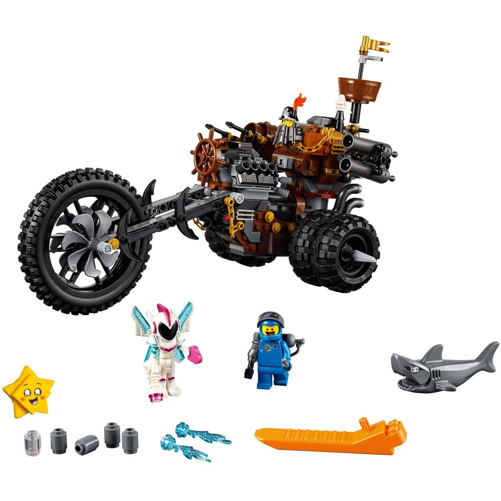 """Конструктор  Lepin 45011 """" Lego movie 2 - Хеви - метал мотоцикл"""", аналог Лего 70834 , количество деталей 517 , bela (lari) 11247"""