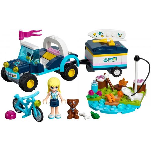 """Конструктор Bela (Lari) 11198 """"Багги с прицепом Стефани"""", аналог: Lego Friends 41364, количество деталей: 241"""