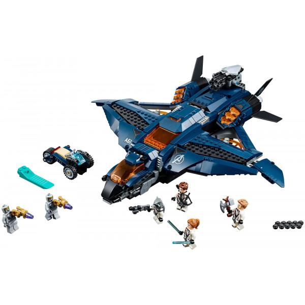 """Конструктор BELA 11261 """"Модернизированный квинджет Мстителей"""", аналог Lego Avengers 76126"""