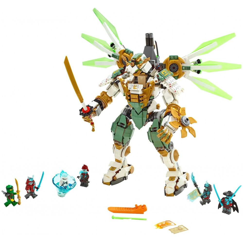 """Конструктор Bela (lari) Ninjago """"Механический Титан Ллойда"""" 11331, количество деталей 912, аналог LEGO Ninjago 70676"""