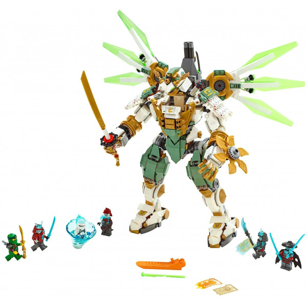 """Конструктор """"Механический Титан Ллойда"""", Bela / Lari Ninja 11331, (аналог LEGO 70676 Ninjago), 912 деталей"""