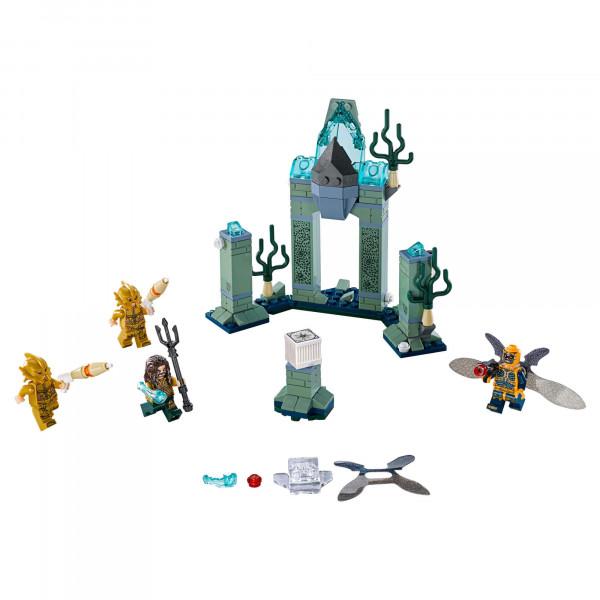 "Конструктор ""Битва за Атлантиду"" Bela 10841 Super Heroes (Аналог LEGO 76085 Лига Справедливости), 221 деталь"