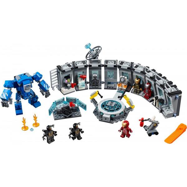 """Конструктор """"Лаборатория железного человека"""", Bela Марвел 11260 (аналог LEGO 76125 Avengers), 560 деталей"""