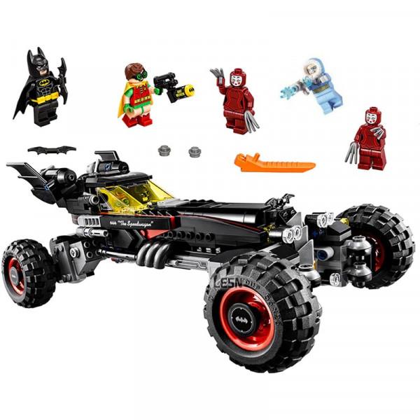 "Конструктор ""Бэтмобиль"" Decool 7126 Бэтмен (аналог Batman 70905), 587 деталей"