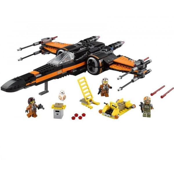 Конструктор Bela 10466 X-Wing истребитель Поу Звездные Войны, (аналог Star Wars 75102), 742 деталей