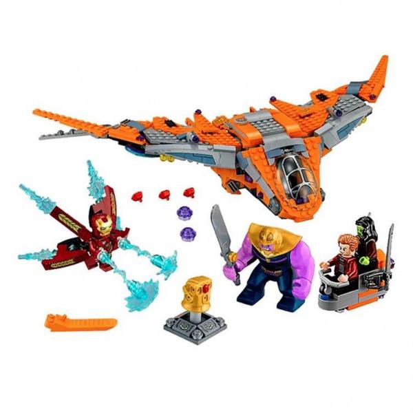"Конструктор Bela 10839 ""Танос — последняя битва"" Серия: Super Heroes Аналог: Lego 76107 Количество деталей: 709"